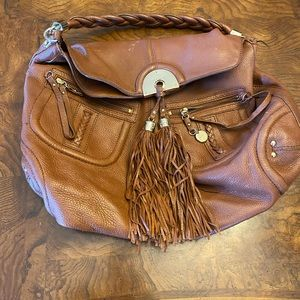 BEBE Leather shoulder bag